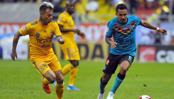 Los Tigres tienen 27 puntos –en zona de repesca- y están a uno del América, su rival en turno. (Foto: AFP)