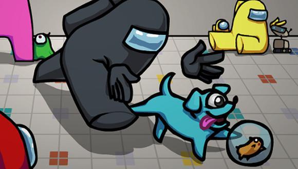 Conoce qué es lo que le ocurre a tu mascota en caso dejes de jugar en Among Us. (Foto: Among Us)