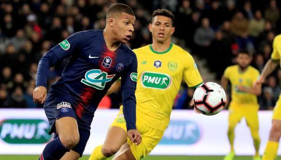 PSG vs. Nantes EN VIVO: cotejo por las semifinales de la Copa de Francia   EN DIRECTO. (Foto: Reuters)