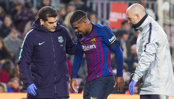 Malcom anotó cuatro goles en su estadía en Barcelona. (Foto: AFP)