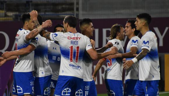 U. Católica hizo respetar su localía y derrotó a Gremio por la fecha 3 del Grupo E de la Copa Libertadores 2020. | Crédito: @CruzadosSADP / Twitter.