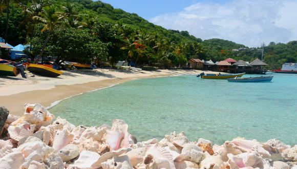 El paraíso de Mustique, en San Vicente y las Granadinas. (Foto: Istock Images).