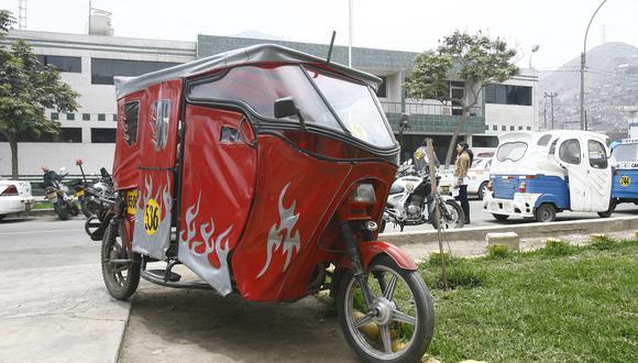 Ministro  Carlos Lozada aclara que mototaxis formales pueden circular durante estado de emergencia decretado para frenar el coronavirus. (Foto: Allen Quintana/GEC)