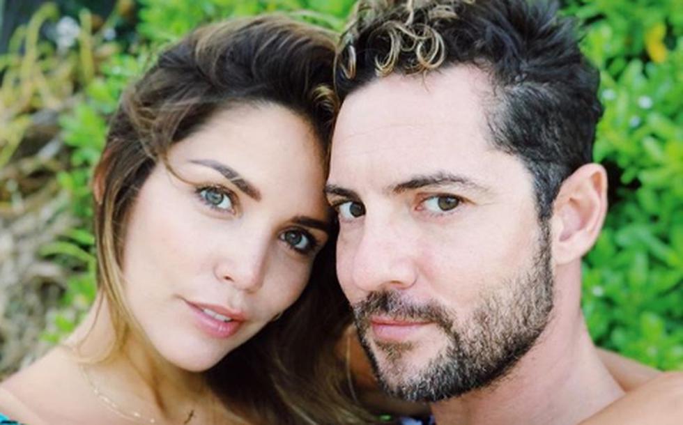 David Bisbal y Rosanna Zanetti (Foto: Instagram)