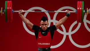 Tokio 2020: Luis Mosquera logra primera medalla para Colombia en levantamiento de pesas