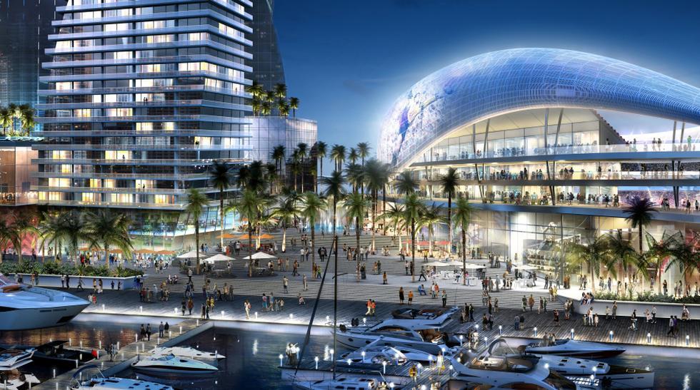Beckham y el lujoso estadio que planea construir para su equipo - 1