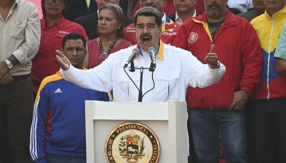 Nicolás Maduro ordenó la realización de ejercicios militares en los estados de Zulia, Táchira, Apure y Amazonas de frontera que Venezuela comparte con Colombia.(Foto: AFP).