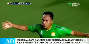 Sport Huancayo confía en avanzar en la Sudamericana
