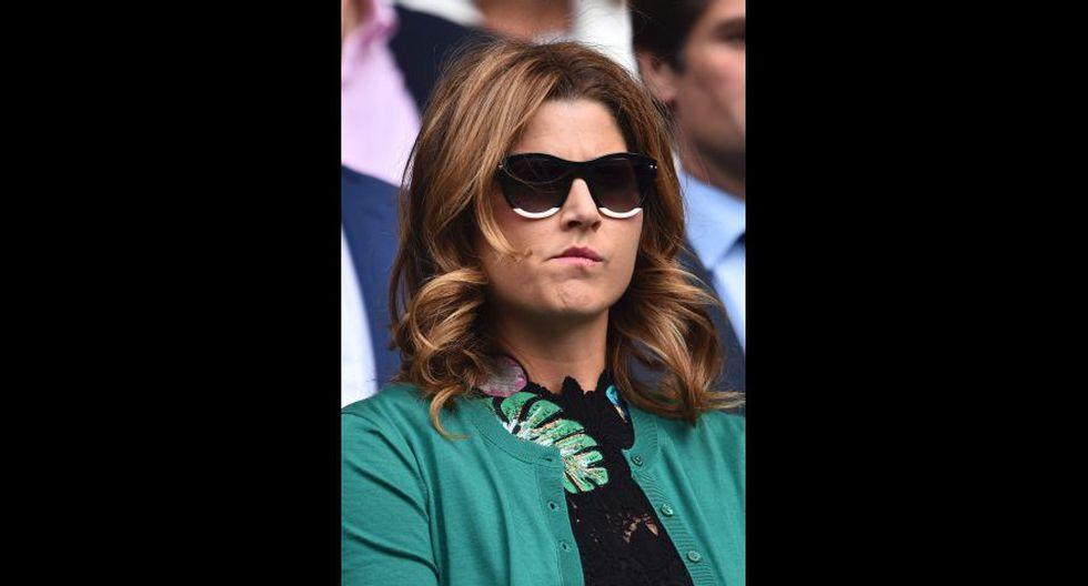 Mirka Federer, esposa de Roger. (Foto: Agencias)