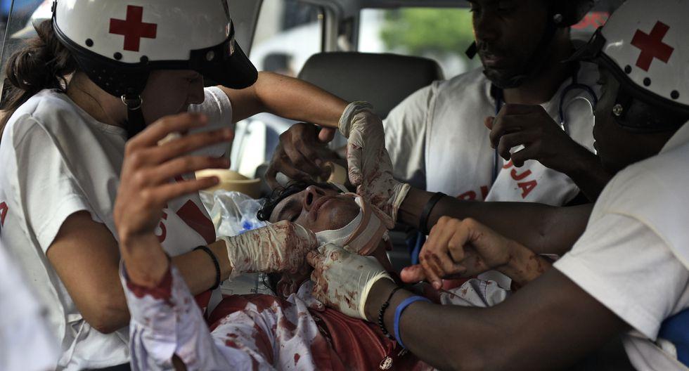 Venezuela: Opositores anuncian 4 muertos en protestas contra Maduro. El número de heridos supera los 50.  Foto: AFP