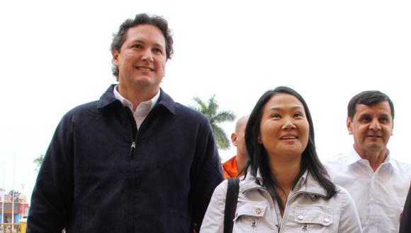 """""""Hace unos años [Keiko Fujimori] decía 'si lo indulto me quita el partido, entonces, me conviene dejarlo adentro, me conviene que se revierta el indulto y que regrese a la cárcel'"""", reveló Daniel Salaverry. (Foto: GEC)"""
