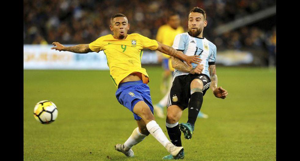 Nicolás Otamendi sería el encargado de marcar a Paolo Guerrero. (Foto agencias)