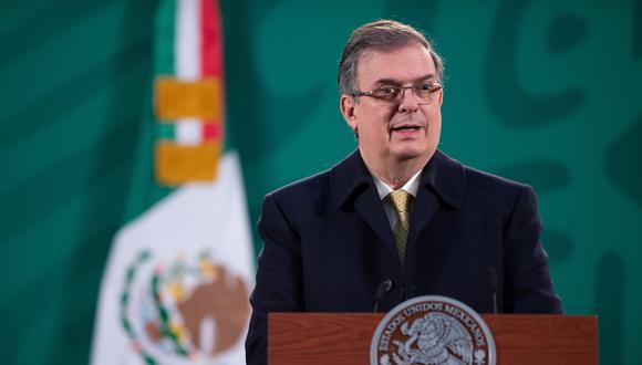 Marcelo Ebrard, ministro de Relaciones Exteriores de México. REUTERS