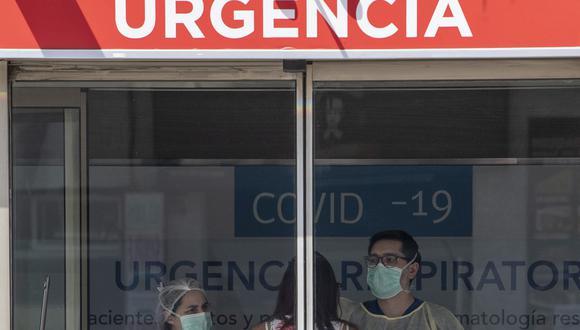 Chile registra 12 muertos por coronavirus. (AFP / MARTIN BERNETTI).