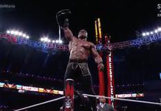 WrestleMania 37: Bobby Lashley retuvo el Título de WWE tras vencer a Drew McIntyre | VIDEO