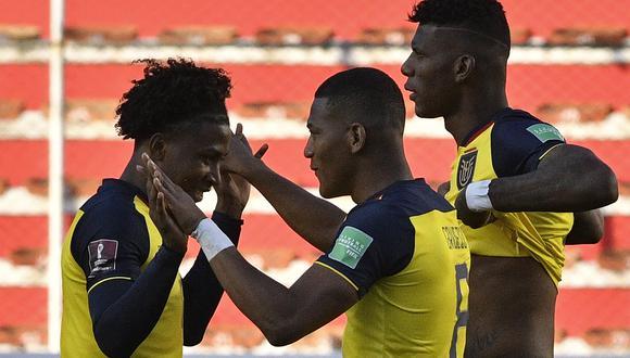 Ecuador suma 6 puntos en estas Eliminatorias y en la próxima fecha recibe a Colombia en Quito. (Foto: AFP)