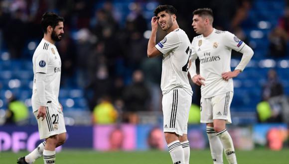 Real Madrid fue humillado por CSKA Moscú en el Bernabéu y perdió 3-0 en la Champions League. (Foto: AFP)