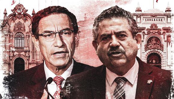 Martín Vizcarra y Manuel Merino. ¿Cómo ha sido su trato en estos meses? (Imagen: El Comercio)
