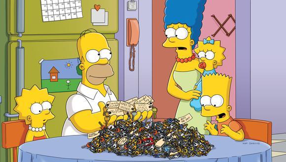 La popular familia amarilla conformada por Homero, Marge, Bart, Lisa y la bebé Maggie, nos han divertido con sus aventuras y ocurrencias junto a los habitantes de la ciudad de Springfield (Foto: Disney Plus)