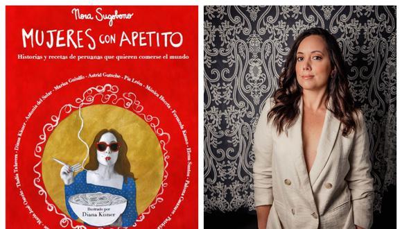 Nora Sugobono, periodista de la revista Somos y autora del libro Mujeres con Apetito. (Foto: Daniella Andrade)
