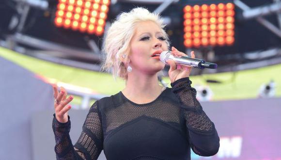 La hija de Christina Aguilera se llama Summer Rain
