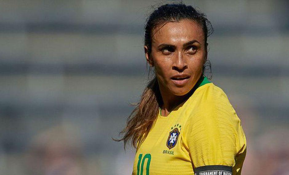 Marta sufrió lesión y se perderá torneo amistoso con la selección brasileña | Foto: Agencias