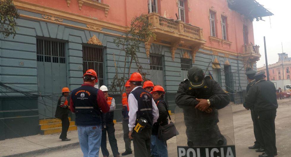 Plaza Dos de Mayo: afectados por incendio retiraron sus bienes
