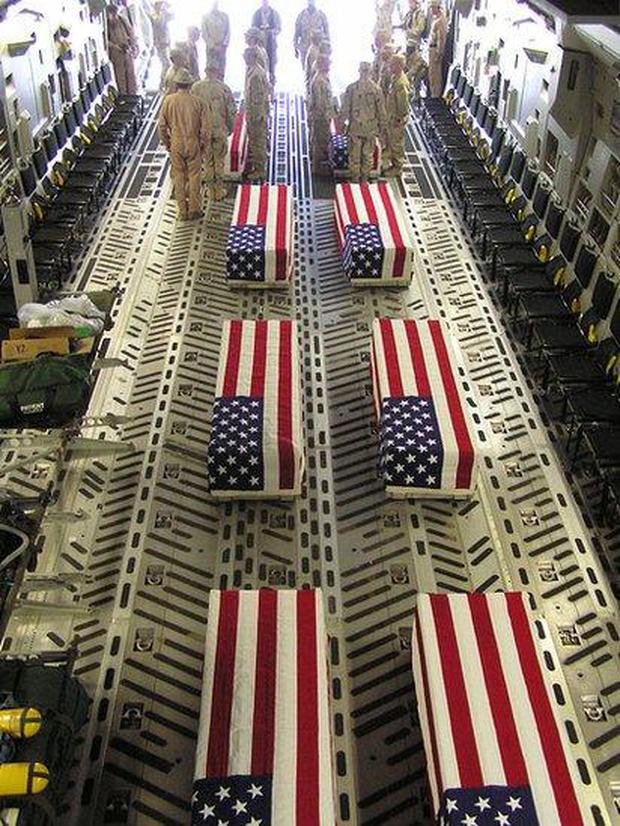 More than 3,500 soldiers from the U.S.-led coalition have died since 2001, two-thirds of whom are Americans.  (Getty Images)