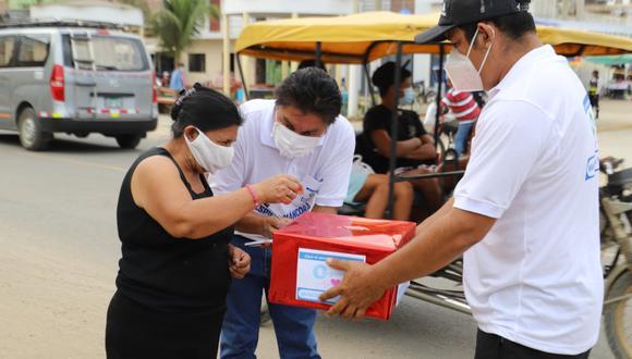 El municipio solicita a pobladores y turistas seguir donando para la compra de una planta de oxígeno que beneficiará a los pacientes infectados con COVID-19. (Foto: Municipalidad de Máncora)