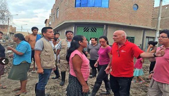 Lambayeque: priorizan apoyo a zonas afectadas por lluvias