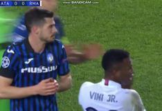 Real Madrid vs. Atalanta: la polémica expulsión de Remo Freuler tras falta sobre Ferland Mendy | VIDEO