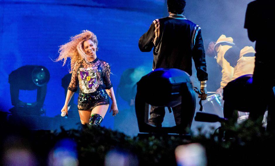 Beyoncé y Jay-Z (Foto: AFP)
