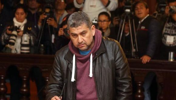 Audios CNM. El juez Walter Ríos había presentado su renuncia a la Corte Superior del Callao antes de ser detenido de forma preliminar. (Difusión)