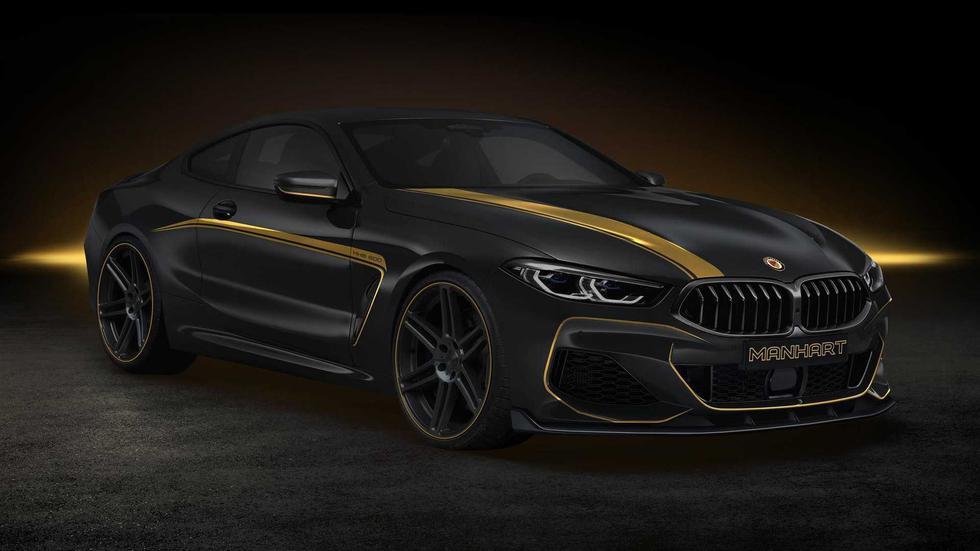Luego de las mejoras, el BMW M850i Coupé by Manhart alcanza una potencia de  630 caballos. (Fotos: Manhart).