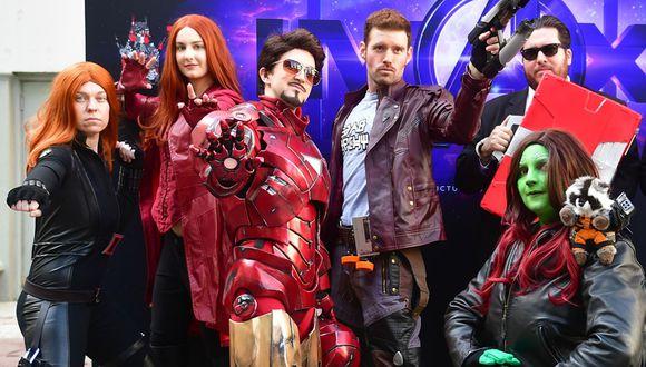 """Un fan mexicano, Agustín Alanis, contribuye a que """"Avengers: Endgame"""" sea una de las cintas más taquilleras de la historia. (Foto: AFP)"""