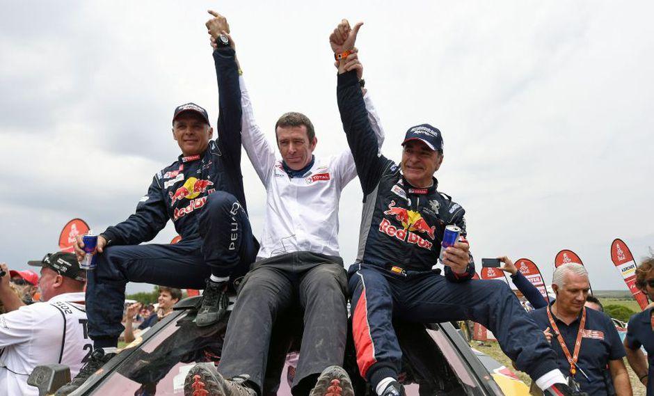 Carlos Sainz se coronó campeón en autos