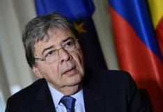 El ministro de Defensa de Colombia en cuidados críticos por coronavirus