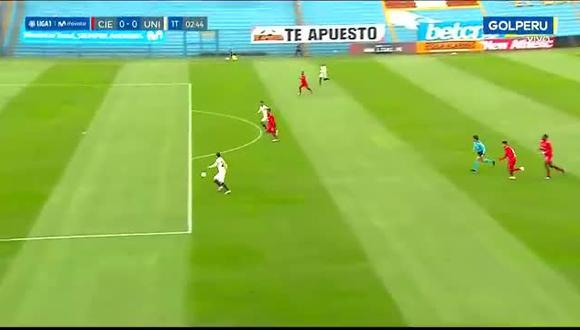 Donald Millán falló inmejorable ocasión de gol en el Universitario vs. Cienciano | Vídeo: GOL Perú