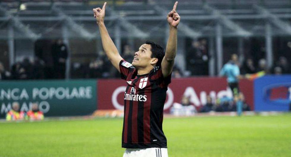 AC Milan: Carlos Bacca marcó luego de 42 días en Italia [VIDEO] - 1