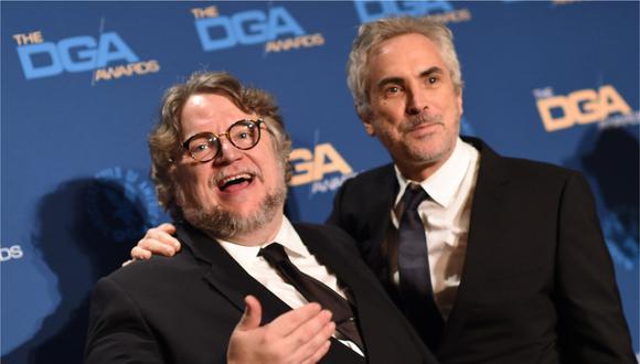 """Guillermo Del Toro y Alfonso Cuarón compartirán con el mundo una charla """"muy íntima y personal"""". (Foto: AFP/Valerie Macon)"""
