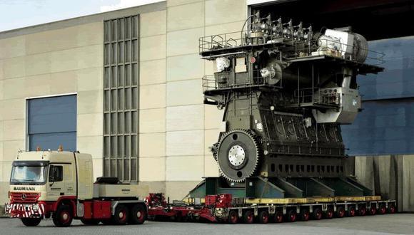 El motor diésel más grande del mundo [VIDEO]