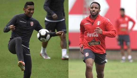 Christofer Gonzales y Jefferson son las cambios que incluirá Ricardo Gareca para enfrentar hoy a Brasil por las Eliminatorias Qatar 2022. (Foto: AFP)