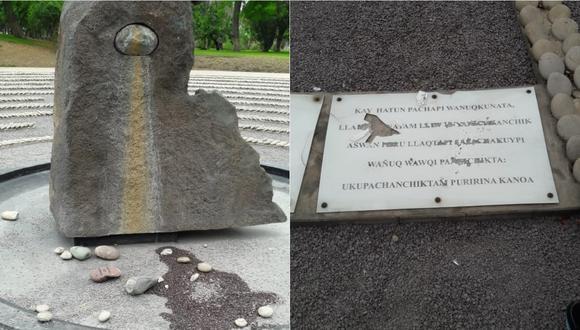 Memorial El ojo que llora se encuentra en Jesús María (Facebook)