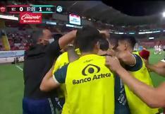 Necaxa vs. Puebla: Guillermo Martínez sentenció el 1-0 de 'La Franja' como visitante | VIDEO
