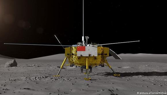 Chang'e 5 es la primera misión china para recolectar muestras lunares. (Foto: Xinhua)