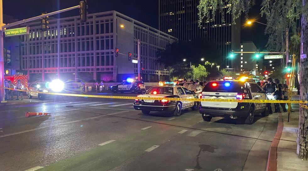 Las Vegas es una de las ciudades que más violencia ha registrado durante las marchas por la muerte de George Floyd. (Foto: AP)