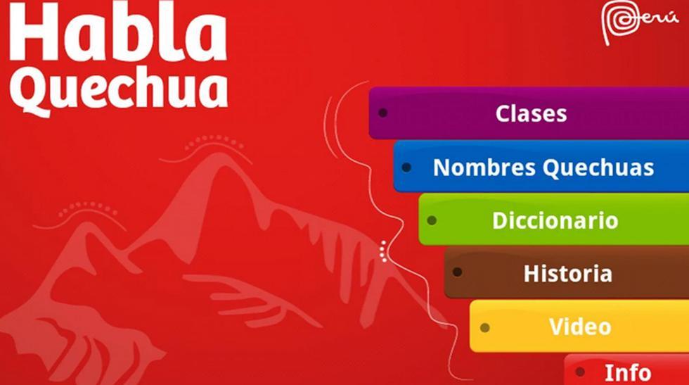 """Conoce más sobre las aplicaciones """"Habla Quechua"""" y """"Pisco"""" - 1"""
