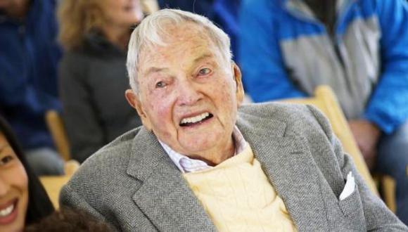Rockefeller, el millonario más veterano celebra sus 100 años