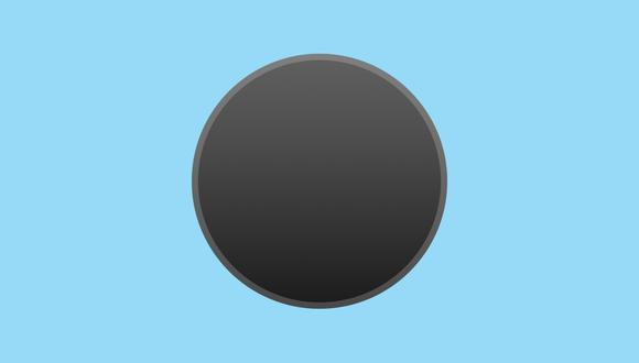 ¡Ya se sabe qué es! Conócelo tú también y compártelo con todos tus amigos: mira el significado del emoji negro de WhatsApp. (Foto: Emojipedia)