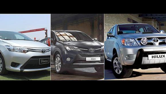 Más de 33 mil autos de Toyota tendrán que ser revisados en Perú